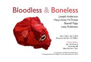 Bloodless & Boneless Poster