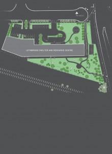 Lethbridge Shelter Landscape Plan GREY